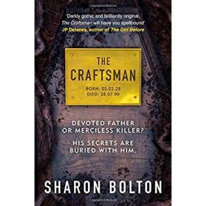 Book cover of 'The Craftsman' by Sharon Bolton